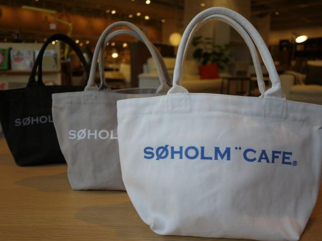 「soholm cafe トートバッグ」の画像検索結果