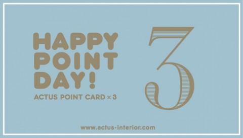 point×3